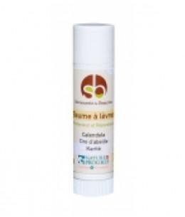 Baume à lèvres karité et calendula 4,5g Savonnerie de Beaulieu produit de soin des lèvres Espritphyto