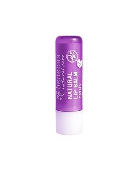 Baume à lèvres Cassis 4gr Benecos produit de soin pour les lèvres Espritphyto