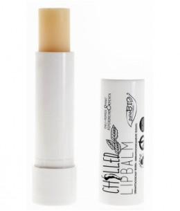 Baume à lèvres Chilled 5ml Purobio Cosmetics produit de soin pour les lèvres Espritphyto