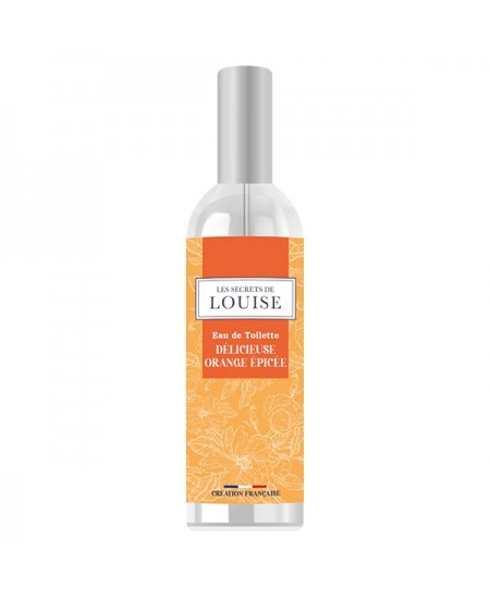 Les Secrets de Louise - Eau de Toilette Orange Épicée - 100 ml