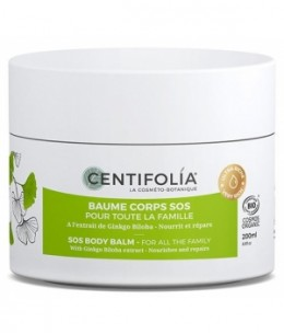 Centifolia - Baume corps SOS pour toute la famille au Ginkgo Biloba 200ml