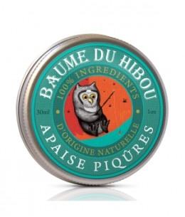 Les Baumes Du Hibou - Baume de massage apaise piqûres 30ml