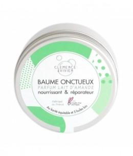 Baume onctueux lait d'amande 150ml Clemence et Vivien produit de soin visage et corps Espritphyto