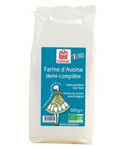 Farine d'avoine demi complète Celnat - 500 gr - Celnat bio et AB Espritphyto