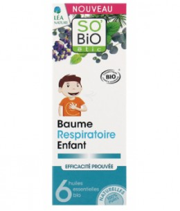 So'Bio étic - Baume respiratoire Enfant 50ml