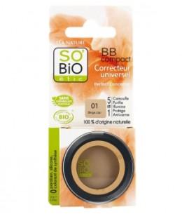 So'Bio étic - BB compact correcteur universel 01 Beige nude 3.8gr