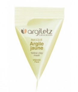 Argiletz - Berlingot masque argile jaune 15ml