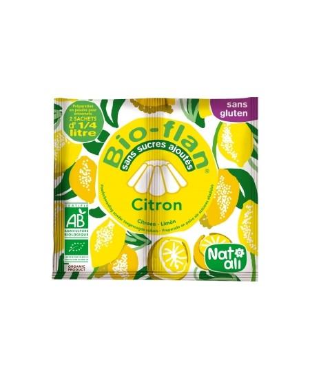 Natali - Bioflan Citron sans sucres ajoutés 2x3,5gr