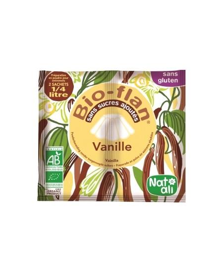 Natali - Bioflan Vanille sans sucres ajoutés 8gr