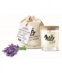 Nao - Bougie Parfumée Naturelle Lavande 200gr