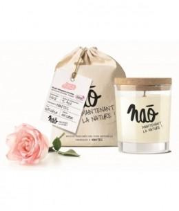 Nao - Bougie Parfumée Naturelle Rose 200gr