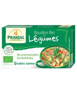 Primeal - Bouillon de légumes en cube 72gr