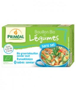 Primeal - Bouillon de légumes sans sel en cube 72gr