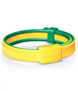 Mousticare - Bracelet anti moustique Jaune et vert dès 30 mois 20gr
