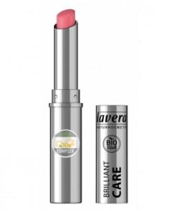 Lavera - Brillant à lèvres Q10 Strawberry pink 02 1.7gr