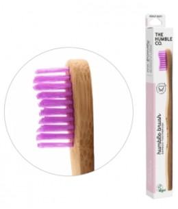 Humble Brush - Brosse à dents adultes Rose Soft 15gr