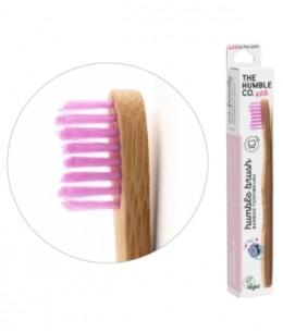 Humble Brush - Brosse à dents enfants rose 15gr