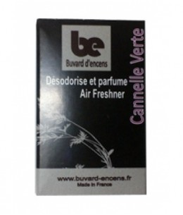 Buvards D'Encens - Buvard d'encens Cannelle Verte 36 feuillets