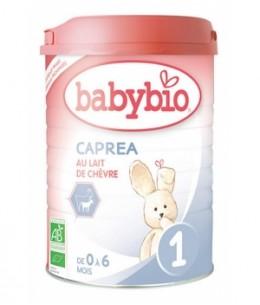 Babybio - Capréa au lait de chèvre 1er âge de 0 à 6 mois 900gr
