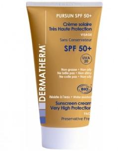 Dermatherm - Pursun SPF50+ Crème solaire très haute protection visage - 50 ml