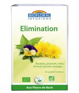 Biofloral - Infusion Elixir Élimination Amincissement Reminéralisation - 20 sachets