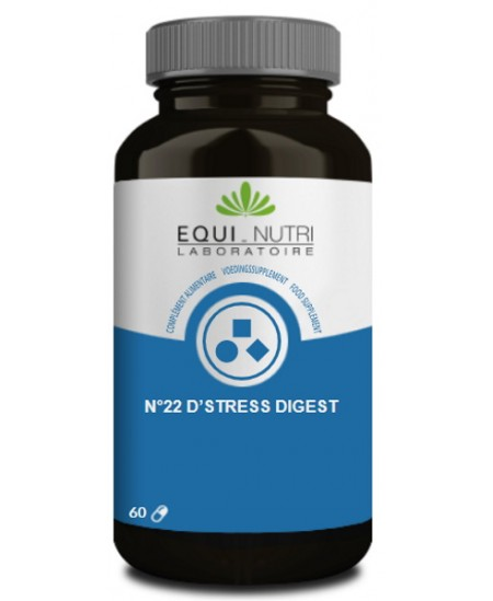 N°22 D'Stress Digest - 60 gélules - Equi - Nutri équilibre digestif et nerveux espritphyto