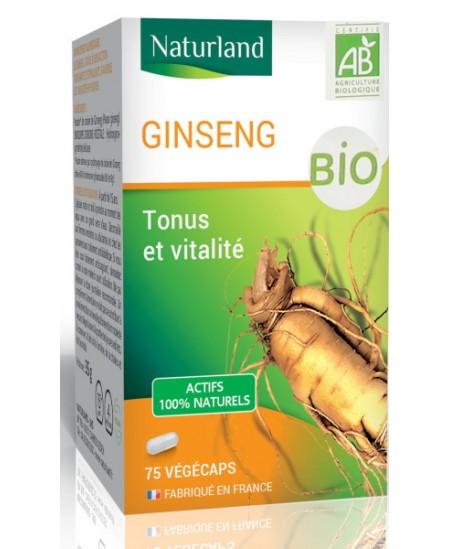 Naturland - Panax ginseng Bio - 90 Comprimés