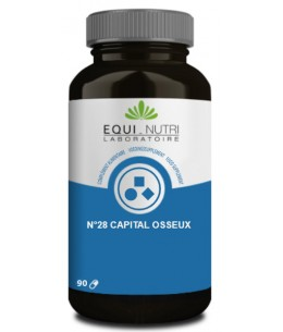 N° 28 Capital Osseuxs - Equi - Nutri pidolate de calcium Espritphyto