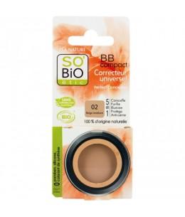 So'Bio étic - BB compact correcteur universel 02 Beige médium 3.8gr