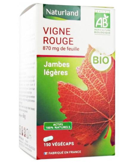 Naturland - Vigne rouge - 150 Végécaps