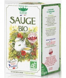 Romon Nature - Tisane Sauge bio - 18 sachets