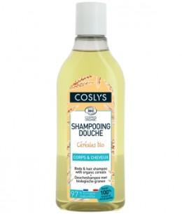 Coslys - Shampoing douche céréales bio - 250 ml