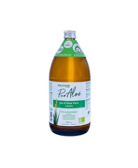 Pur Aloé - Jus D'Aloe Vera A Boire - Bio & Equitable - 1 Litre