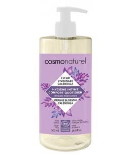 Cosmo Naturel - Gel intime Confort quotidien 500 ml Gel intime au PH doux - 500 ml - espritphyto