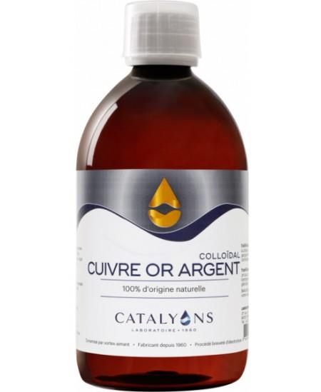 Catalyons - Cuivre, or et argent - 500 Ml