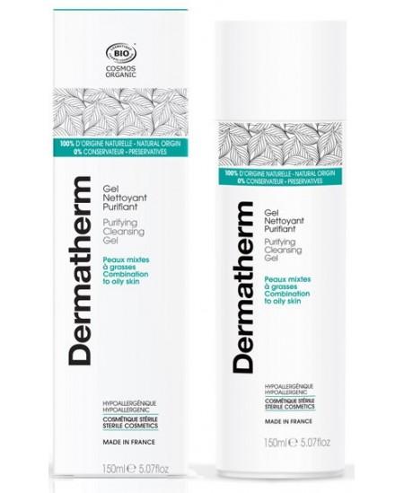 Dermatherm - Gel nettoyant Purifiant Peaux mixtes et grasses - 150ml