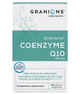 Laboratoire Des Granions - Coenzyme Q10 - 120mg 30 Gélules antioxydant espritphyto