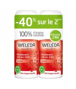 Weleda - Duo Déodorant Roll-on Grenade - 2 x 50 ml