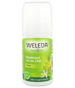 Weleda - Déodorant roll-on Citrus - roll-on 50 ml