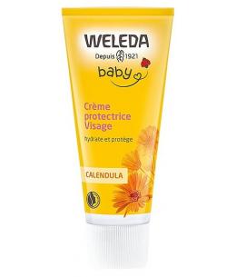 Weleda - Crème protectrice bébé visage au Calendula - 50 ml