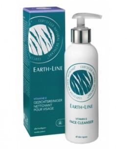 Earth Line - Lait démaquillant visage à la Vitamine E et Huile d'Argan - 200 ml