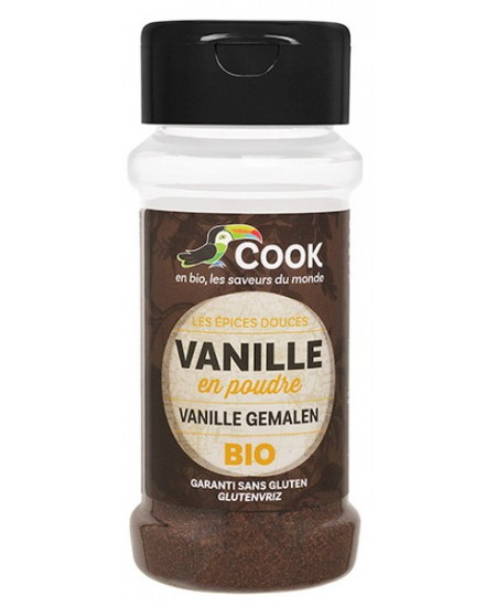 Vanille poudre - 10 gr - Cook arome alimentaire desserts ab Espritphyto