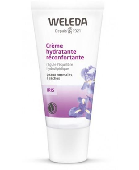 Crème de jour hydratante réconfortante à l'iris - 30 ml - Weleda vitalité netteté Espritphyto