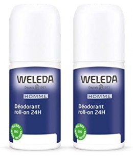 Weleda - Duo Déodorant Roll-on Homme - 2 x 50 ml