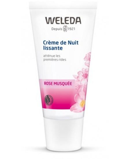 Weleda - Crème de nuit lissante - 30 ml