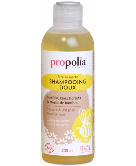 Propolia - Shampooing Doux Bio être de mèche Miel et Bambou - 200 ml