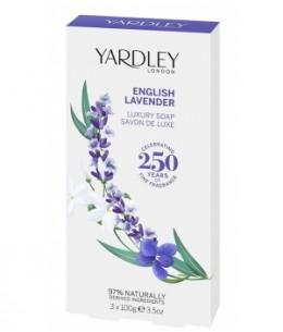 Yardley - Coffret 3 savons English Lavender 3 x 100g