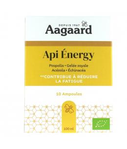 Aagaard - Api' Energy - 10 ampoules de 10ml