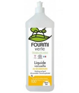 La Fourmi Verte - Lessive liquide parfum Citron - 1 litre