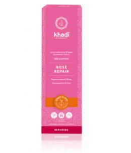 Khadi - Shampoing ayurvédique Rose - 210 ml